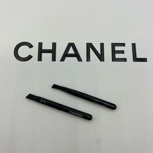 2 pcs. New Chanel mini eyebrow brush